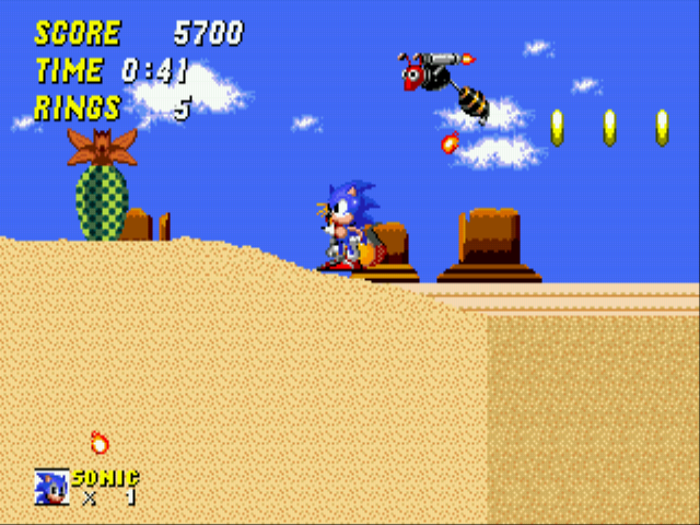 Sonic 2 - The Lost Worlds - Quicksand: 5 - User Screenshot