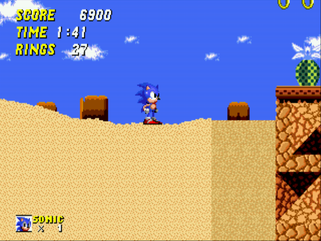 Sonic 2 - The Lost Worlds - Quicksand: 3 - User Screenshot