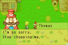 Harvest Moon - More Friends of Mineral Town - Wouldnt you be dead already? - User Screenshot