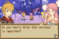 Summon Night - Swordcraft Story 2 - Yes, but I like a chick with brains too.  - User Screenshot