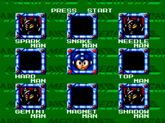 Mega Man - The Wily Wars - all 8 bosses defeated [no cheats!!!] - User Screenshot