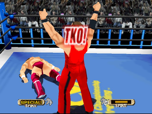 WCW vs. nWo - World Tour - Character Profile  - Knock Out!! - User Screenshot