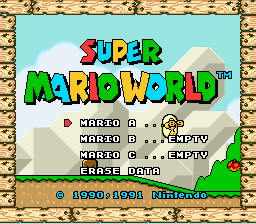 Super Mario World - Introduction  - 3 more levels to go - User Screenshot
