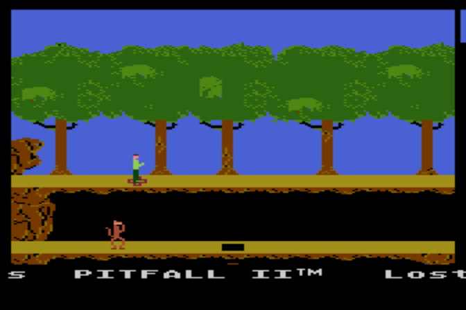 Play <b>David Crane's Pitfall II - Lost Caverns</b> Online