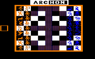 Archon Title Screen
