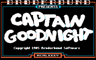 Captain Goodnight
