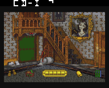 Haunted House (CDI) Game - CD-i Haunted House (CDI)