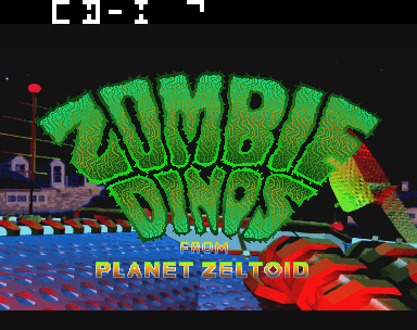 Play <b>Zombie Dinos from Planet Zeltoid</b> Online