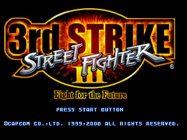 Street Fighter III: Third Strike (Fight for the Future)