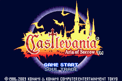 Castlevania - Dawn of Symphony Title Screen