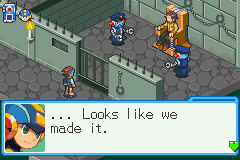 Mega Man Battle Network 6 Cybeast Falzar Screenshot 1