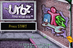 The Urbz - Sims in the City Title Screen