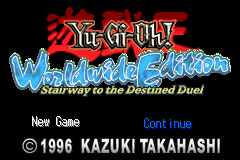 Yu-Gi-Oh! - Worldwide Edition - Stairway to the Destined Duel