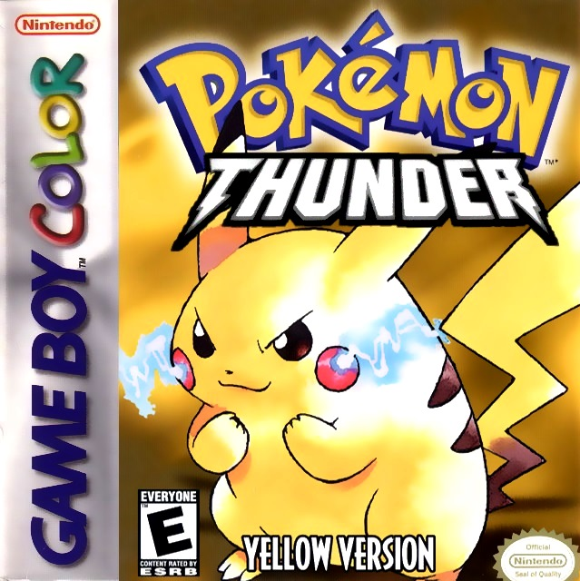 pokemon thunder yellow gba