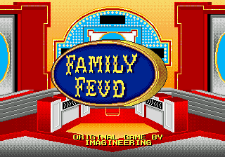 Family Feud Title Screen