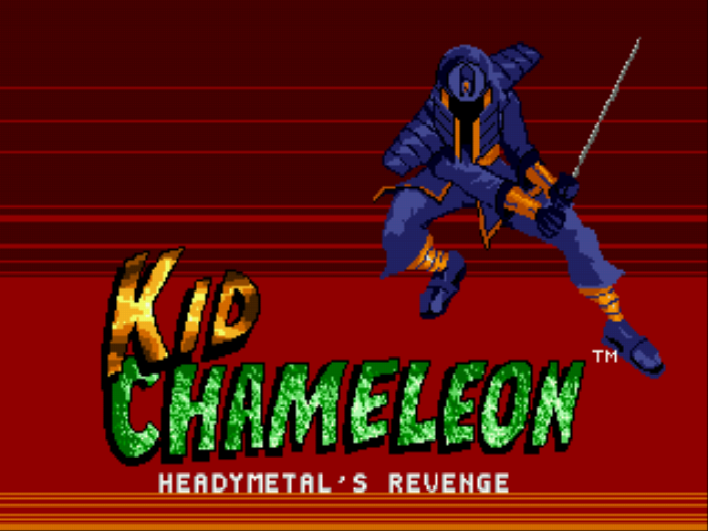 Kid Chameleon - Heady Metal's Revenge