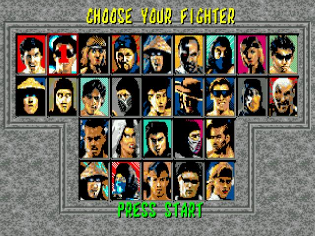 Play Mortal Kombat 6 28 People Online GEN Rom Hack of Mortal