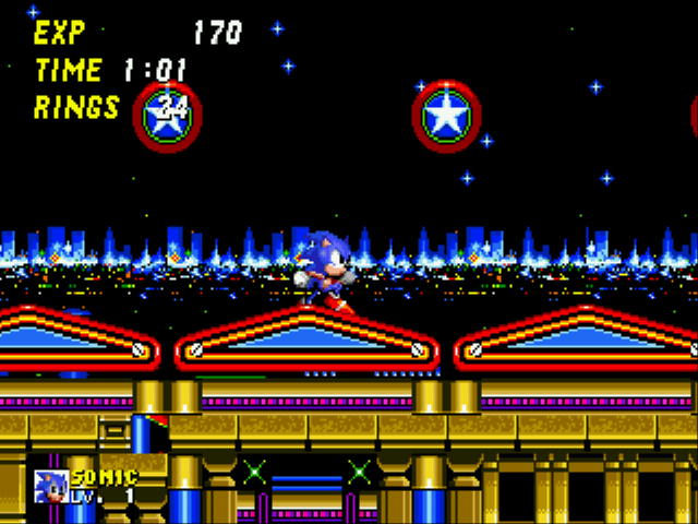 Sonic 2 - Secret Rings Control Screenshot 1
