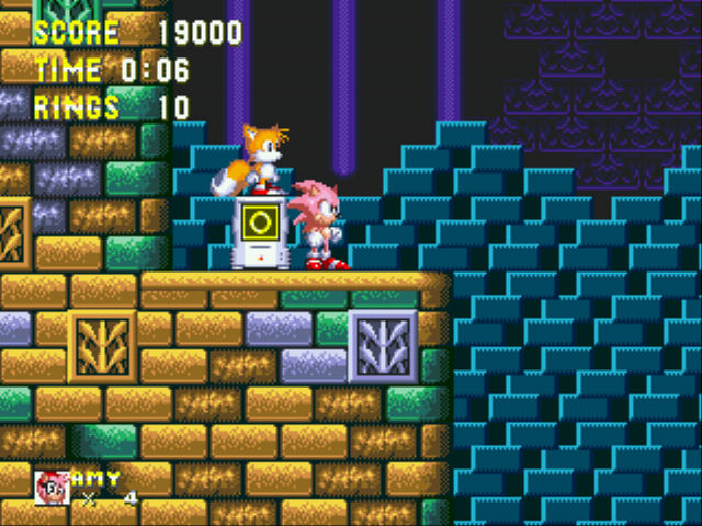 Play Sonic 3 Cz (v2 0) Online GEN Rom Hack of Sonic and