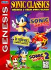 Sonic Classics (Compilation) Box Art Front