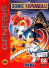 Sonic Spinball Box Art Front