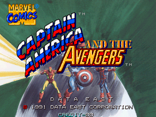Captain America and The Avengers (Asia Rev 1.4)