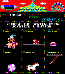 Atari 2600 vcs circus charlie: scans, dump, download, screenshots.