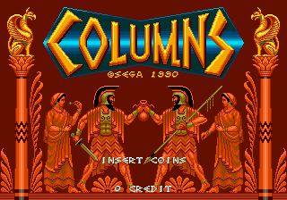 Play <b>Columns (World)</b> Online