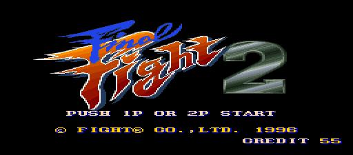 Resultado de imagem para final fight 2 title