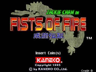 Play <b>Jackie Chan in Fists of Fire</b> Online