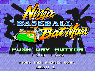 Ninja Baseball Bat Man (World)