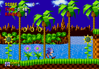 Sonic The Hedgehog (Mega Play)