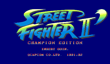 Street Fighter II': Champion Edition (World 920513)