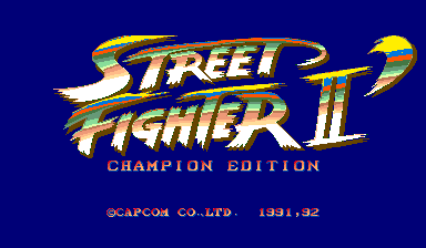 Street Fighter II': Rainbow Edition set 1 (bootleg)