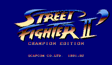 Street Fighter II': Rainbow Edition set 2 (bootleg)