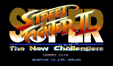 Super Street Fighter II: The New Challengers (World 931005)