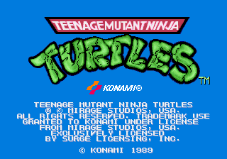 Teenage Mutant Ninja Turtles (World 4 Players)