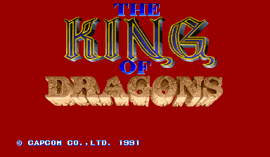 The King of Dragons (World 910805)