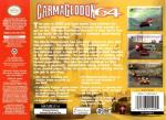 Carmageddon 64 Box Art Back