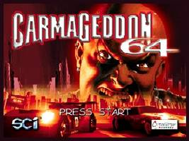 Carmageddon 64 Title Screen