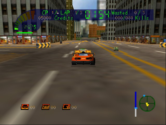 Carmageddon 64 Screenthot 2