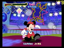 Dance Dance Revolution - Disney Dancing Museum Screenshot 1