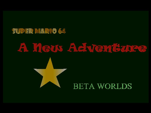 Play <b>SM64: A New Adventure - Beta Worlds</b> Online