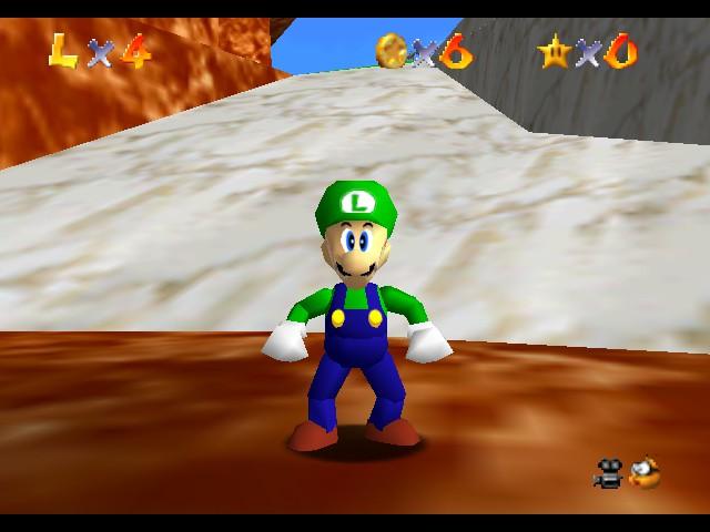 Play Super Luigi 64 Online N64 Rom Hack Of Super Mario 64