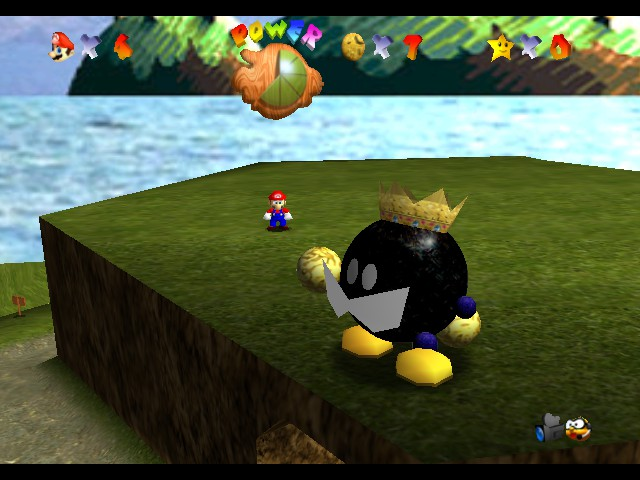 Play Super Mario 64 - HD Online N64 Rom Hack of Super Mario