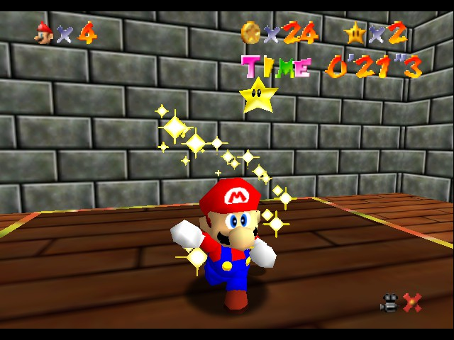 Super Mario 64 Screenshot 1