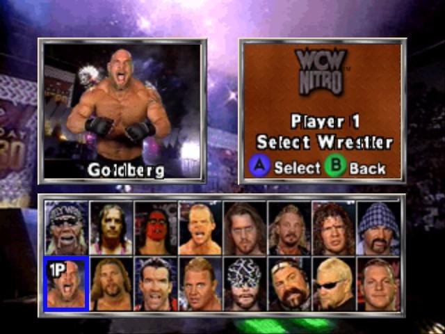 Play WCW Nitro Online N64 Game Rom - Nintendo 64 Emulation