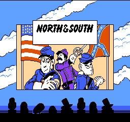North & South Title Screen