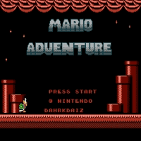 SMB3 Mario Adventure Title Screen