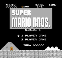 Sirius Mario Bros 5 Title Screen